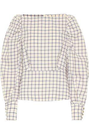 Baum und Pferdgarten Exclusive to Mytheresa – Maribelle checked cotton top