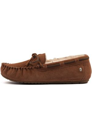 Emu Amity Chestnut Shoes Womens Shoes Casual Flat Shoes