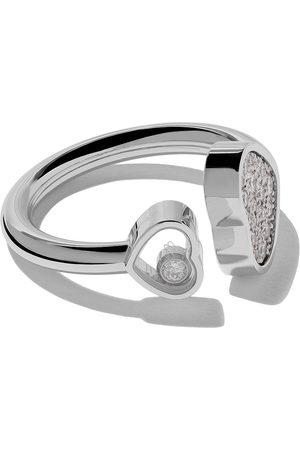 Chopard 18kt Happy Hearts diamond ring