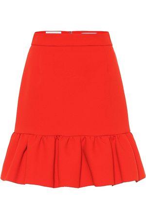 Msgm Stretch crêpe miniskirt