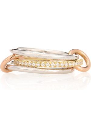 SPINELLI KILCOLLIN Sonny MX 18kt white, yellow and rose diamond ring