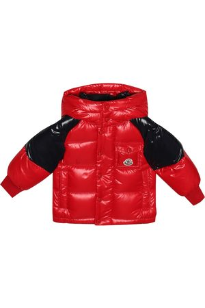 Moncler Baby Biarriz quilted down coat