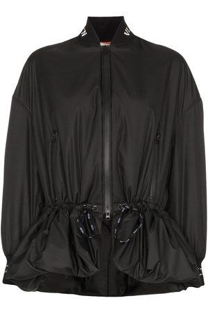 VALENTINO Drawstring bomber jacket