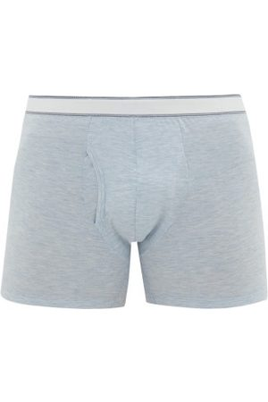 DEREK ROSE Ethan Stretch Micromodal Jersey Boxer Briefs - Mens - Light