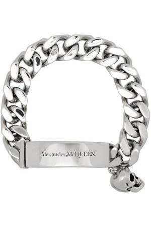 Alexander McQueen Skull charm link bracelet