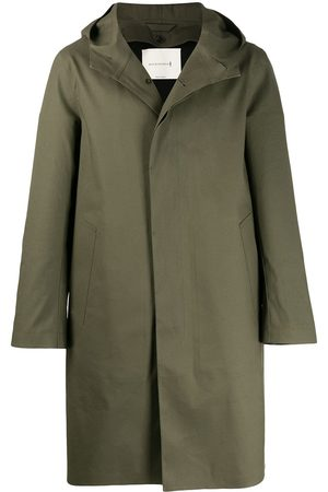 MACKINTOSH Chryston bonded cotton hooded coat