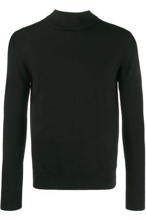 Sandro Men Sweatshirts - Ribbed collar jumper