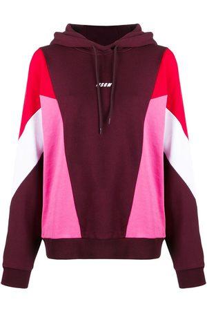 Msgm Colour-block hoodie