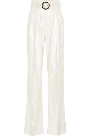 Rebecca Vallance Taylor high-rise wide-leg pants