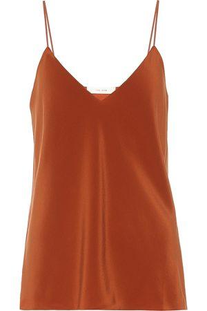 The Row Prima silk crêpe camisole