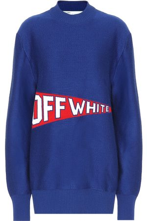 OFF-WHITE Sweaters - Stretch wool blend sweater