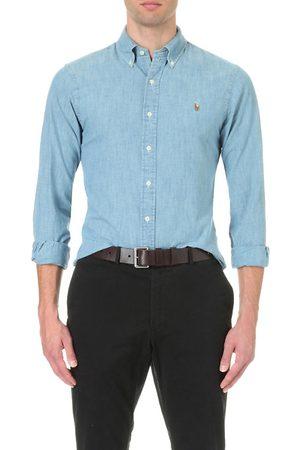 Polo Ralph Lauren Slim-fit single-cuff denim shirt