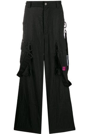 OFF-WHITE Loose cargo trousers