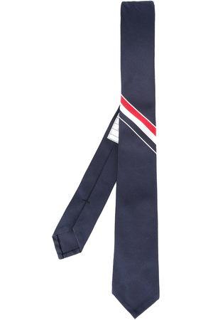 Thom Browne Men Bow Ties - Grosgrain stripe tie