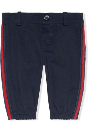 Gucci Side stripe trousers