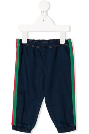 Gucci Web trim track trousers