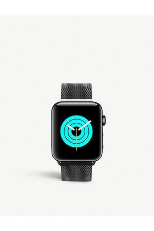 Mintapple Men Watches - Apple Watch Space Black milanese loop strap 38mm/40mm