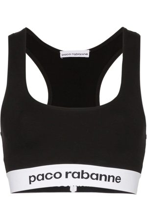 Paco rabanne Logo-band sports bra