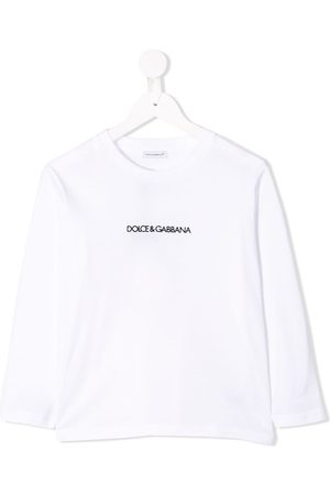 Dolce & Gabbana Logo print long-sleeve top