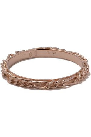 WOUTERS & HENDRIX 18kt rose gold Figaro Chain ring
