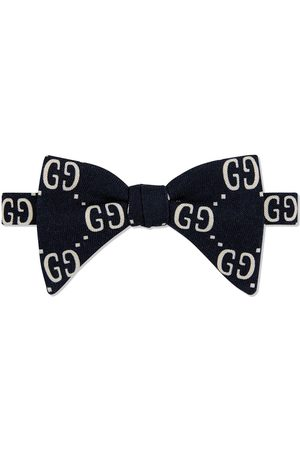 Gucci Monogram pattern bow tie