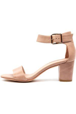 Django & Juliette Cassier Cafe Sandals Womens Shoes Casual Heeled Sandals