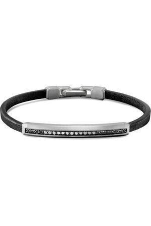 David Yurman Diamond pavé bar charm bracelet