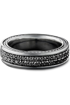 David Yurman Streamline Pavé' diamond silver ring