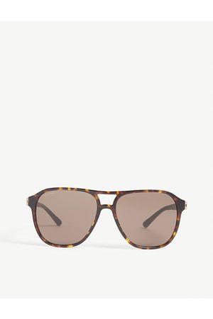 Bvlgari Bv7034 square-frame sunglasses