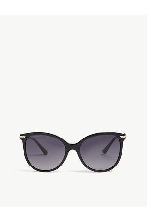 Bvlgari Bv8201b round-frame sunglasses