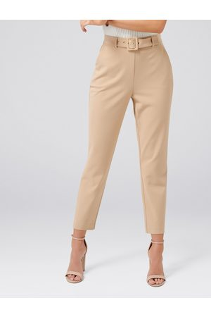 Forever New Emelia High Waist Belted Pant