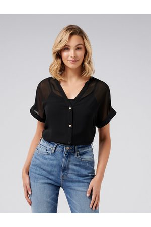 Forever New Reina Button Front Shirt