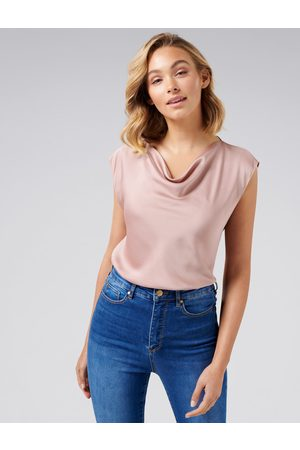 Forever New Angelina Cowl Neck Blouse