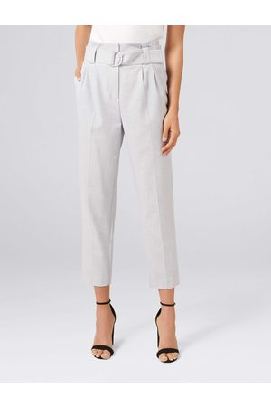 Forever New Joanna Paper Bag Tapered Pants