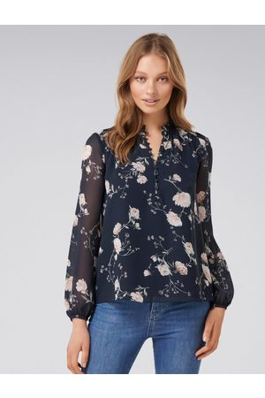 Forever New Jayde Open Placket Blouse