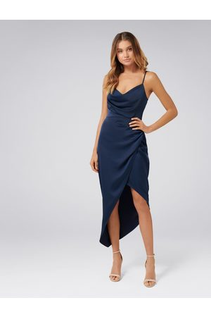 Forever New Kahlia Asymmetric Cowl Neck Dress