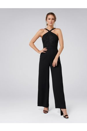 Forever New Ally Lace Bodice Jumpsuit