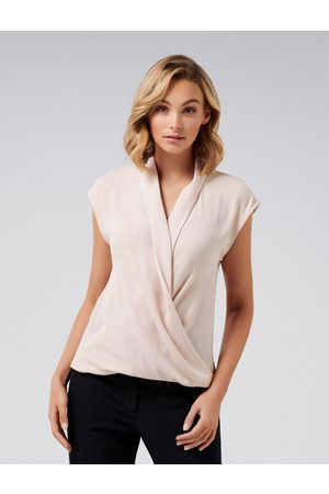 Forever New Eleanor Wrap Blouse