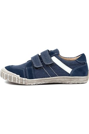 RED BOOTIE Ashley Rb Navy Shoes Boys Shoes Casual Flat Shoes