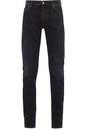 Acne Blå Konst North Cotton Blend Skinny Jeans - Mens - Dark Navy