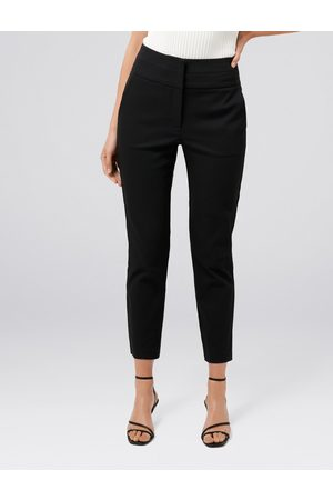 Forever New Women Formal Pants - Georgia High Waist Cropped Pants