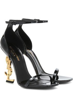 Saint Laurent Opyum 110 patent leather sandals