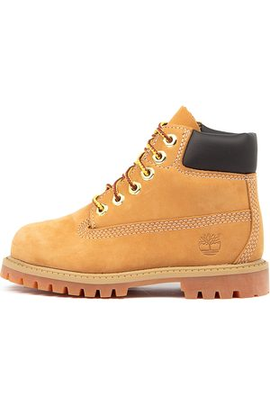 Timberland 6 Premium Icon Boot Tot Wheat Boots Boys Shoes Casual Ankle Boots