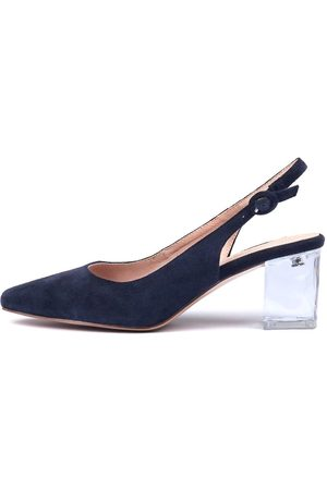 Django & Juliette Hinnis Navy Shoes Womens Shoes Dress Heeled Shoes