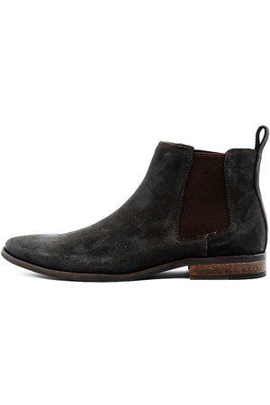 Croft Men Boots - Camden Choc Boots Mens Shoes Dress Ankle Boots