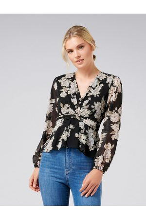 Forever New Tessa Twist Front Blouse