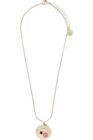 Forever New Clara Mixed Stone Pendant Necklace