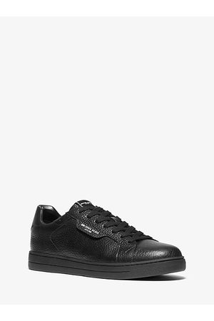 Michael Kors Keating Pebbled Leather Sneaker