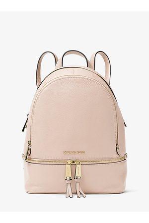 Michael Kors MK Rhea Medium Leather Backpack - Soft - Michael Kors
