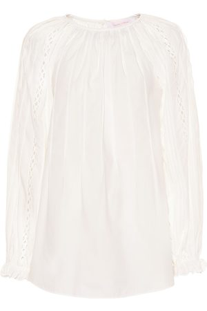 See by Chloé Cotton-poplin blouse